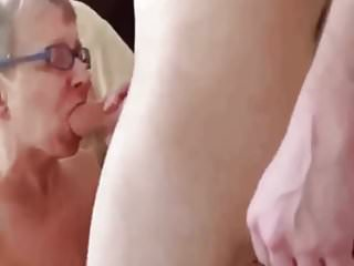 Has is guy a her enjoying withyoung granny with fuck