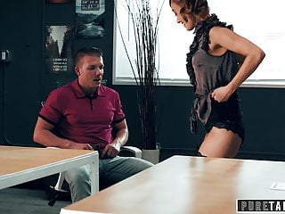 PURE TABOO, Teacher Christy Love Asks Student to Creampie Her
