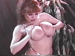 Vintage Huge Tits Whitney Wonders and Sylvia May have strip sex
