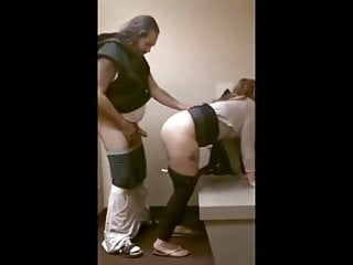 Milf takes it from behind...