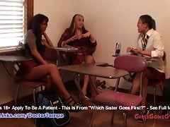 Sisters Asia Perez & Little Mina get their 1st Gyno Exam From Doctor From Tampa