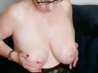 Mega big Tit Whore – Taking part in With Herself