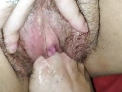 Fisting a hot pussy