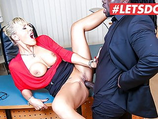 LETSDOEIT Workplace big black cock Expertise For Great Ass hot mom Lana Vegas