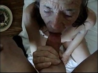 This old bitch wanted to fuck and suck...