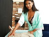 PropertySex - Massage therapist works landlord's groin