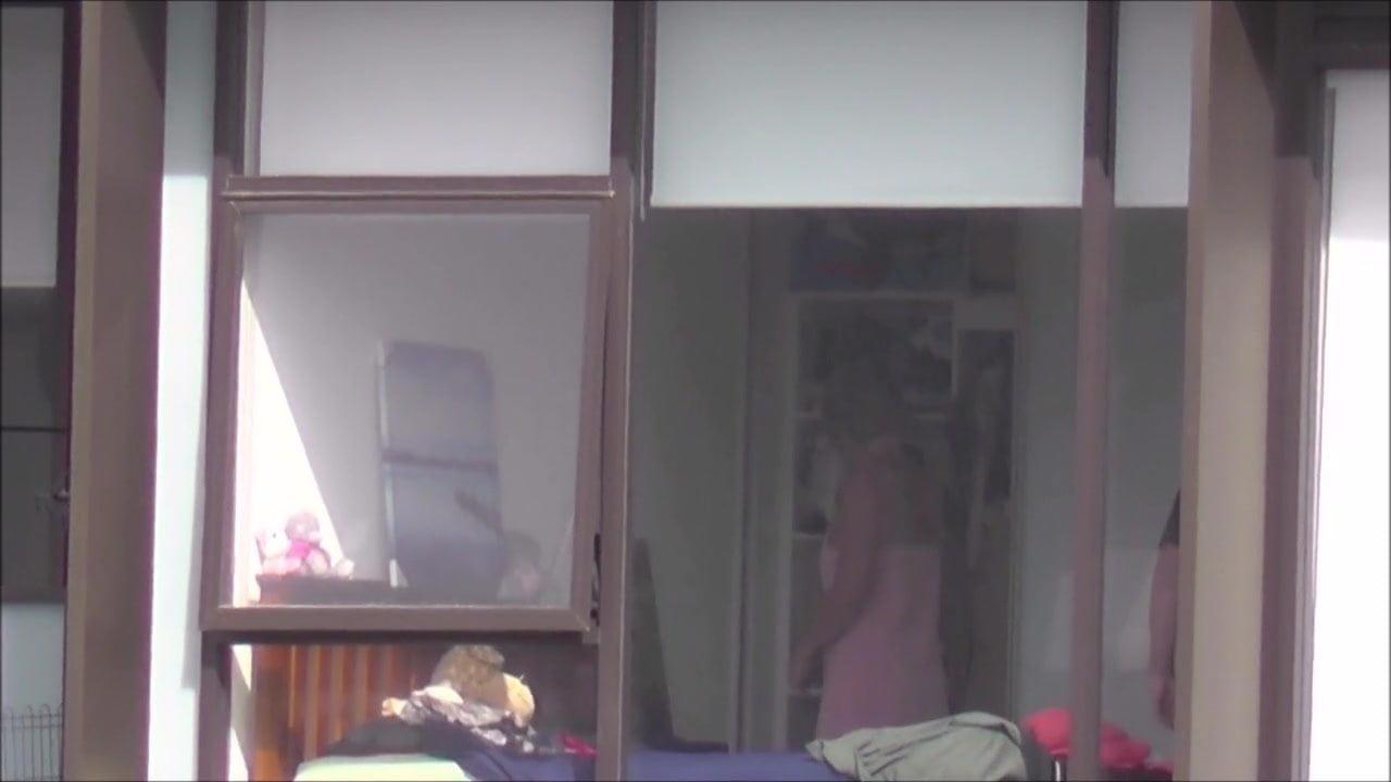 Bedroom window voyeur xxx hot images