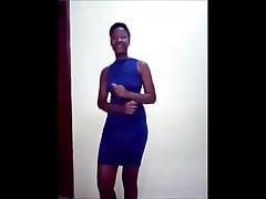 African hot nude Twerk by Malaika