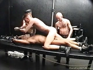 Gay dungeon slaves...