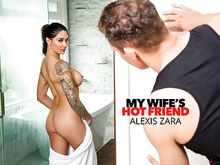 Naughty america alexis zara trainer friend...