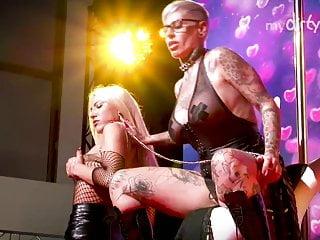 Blonde MILFS lesbian - in German  public busty MyDirtyHobby