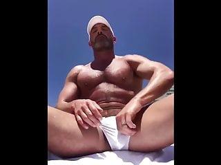 Jerks on the beach...