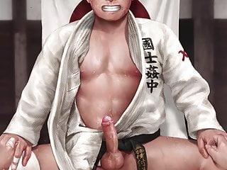 Judo cum Handsfree AJCG Boy's