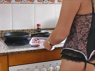 British hotwife pornstar natalie k steak amp blowjob...