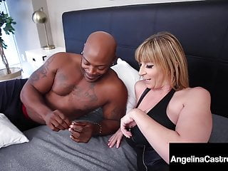 Bbw Big Cock Big Tits video: Thick Latina Angelina Castro & PAWG Milf Sara Jay Fuck BBC!