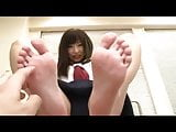 Arisa Nakano - Japanese Foot Fetish