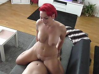 Anal German movie: Horny Redhead Escort Fucking