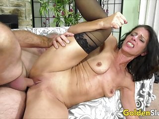 Golden Bitch – Pounding Older Pussies Compilation Half 8