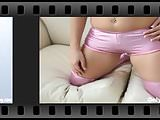 These tight pink PVC panties are so hot