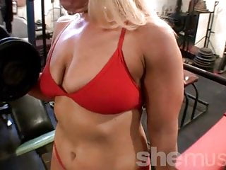 Genie's Muscle in Red