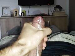 Big hairy croatian dick spurting