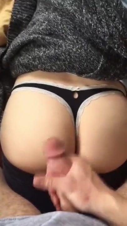 amateur ass black cum shot tit