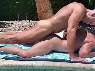 OF – Colby Melvin & Dallas Steele – Poolside Fuck