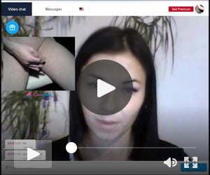 flashing some hot girls on webcam
