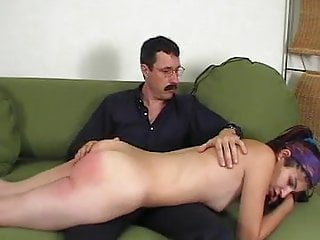 shameful session french humiliated Shy spanking girl slave