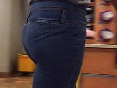 Sexy Slim Ass Ebony VPL