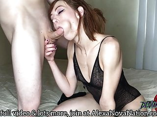 Alexa Nova gets facefucked until she drools all over