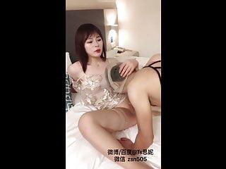 Nylon Pantyhose face fuck faggot is a cocksucker with a sexy