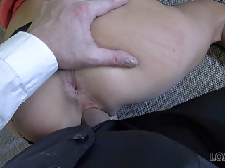 VIP4K. Sweet thing Inga gives her body to loan agent