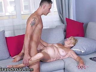 LustyGrandmas, He Skips His Rent By Fucking His GILF Landlady