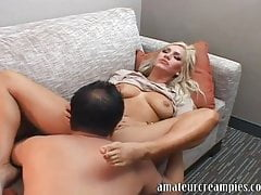 AMWF, American Cameron Dee With Big Boobs Has Sex With Chinese Man