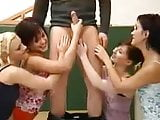 4 German School Girls and Teacher