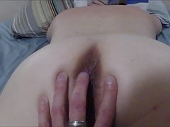 Vaginal massage of my wife