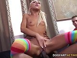 Katerina Kay Pays Her BF's Debt With Interracial Sex