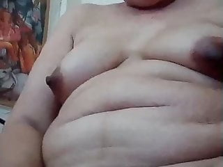 Thai Granny Pussy rubbing Herself