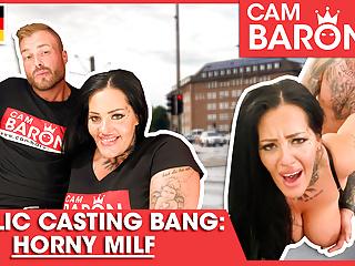 Pornstar Ashley Cumstar bangs a young stud! CamBaron.com