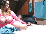 Before the fuck.....bbw wife being sexy angle 2