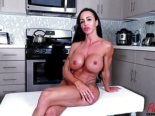 BTS interview with busty health horny milf Jewels Jade