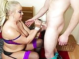 Big horny mom suck and fuck not her son