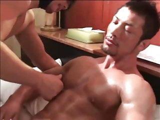 Asian pec worship nipple licking...