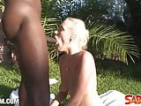 Teena Dolly gets fucked from Black Guru at Saboom