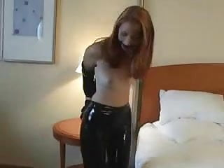 Kendra James bound in latex