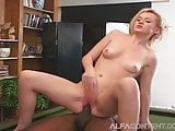 Small Blonde Loves Good Old BBC