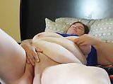 Horny mature bbw masturbation part 1