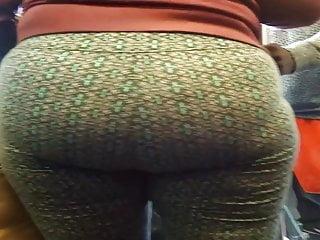 Vpl Latina Milf booty in spanfex
