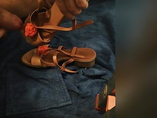 cum on my mother's sexy sandalsHD Sex Videos